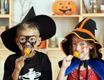 enfants déguisés pour Halloween