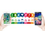 smartphones d'Apple et Samsung